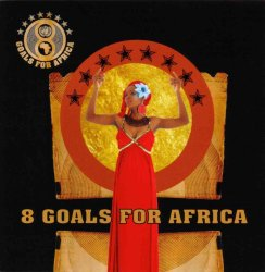 UNDP: '8 Goals For Africa' album cover