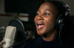 Recording in Cape Town, South Africa, April 2010 (From Music Video '8 Goals for Africa')
