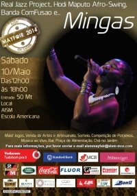 'Mayfair 2014' at AISM in Maputo (American International School of Mozambique), May 10, 2014