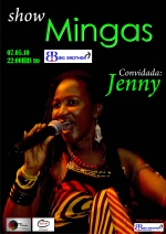 Poster for Mingas' appearance at 'Big Brother' in Xipamanine, Maputo on May 7, 2011