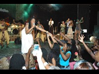 """Mingas 30 Anos"" show in Maputo (Photo by Naita Ussene)"